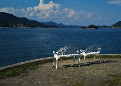 Rest next to shimanami kaido
