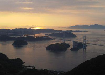 View of the bridges Kirosan