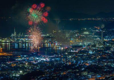 2_Fireworks over Matsuyama
