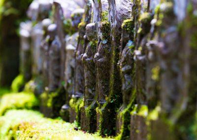 Buddhist statues on Shikoku