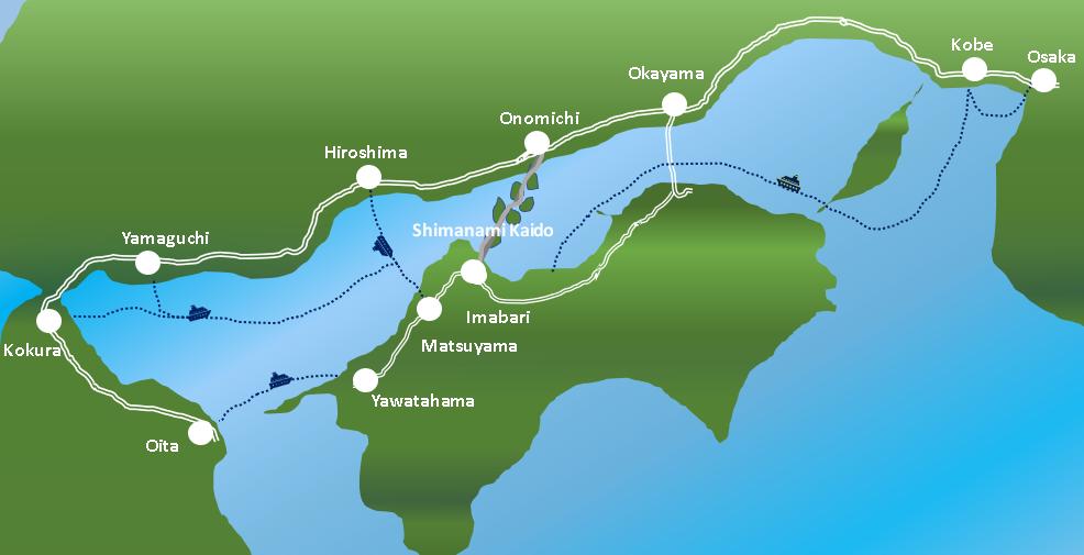 Getting to Shikoku