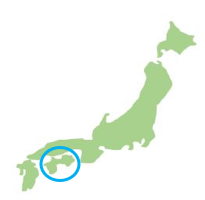 Map of Shikoku